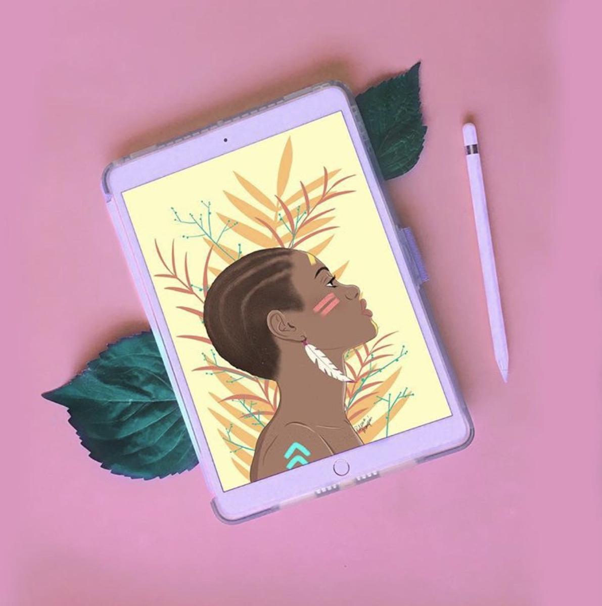 Ilustración Wild Paloma Marqués