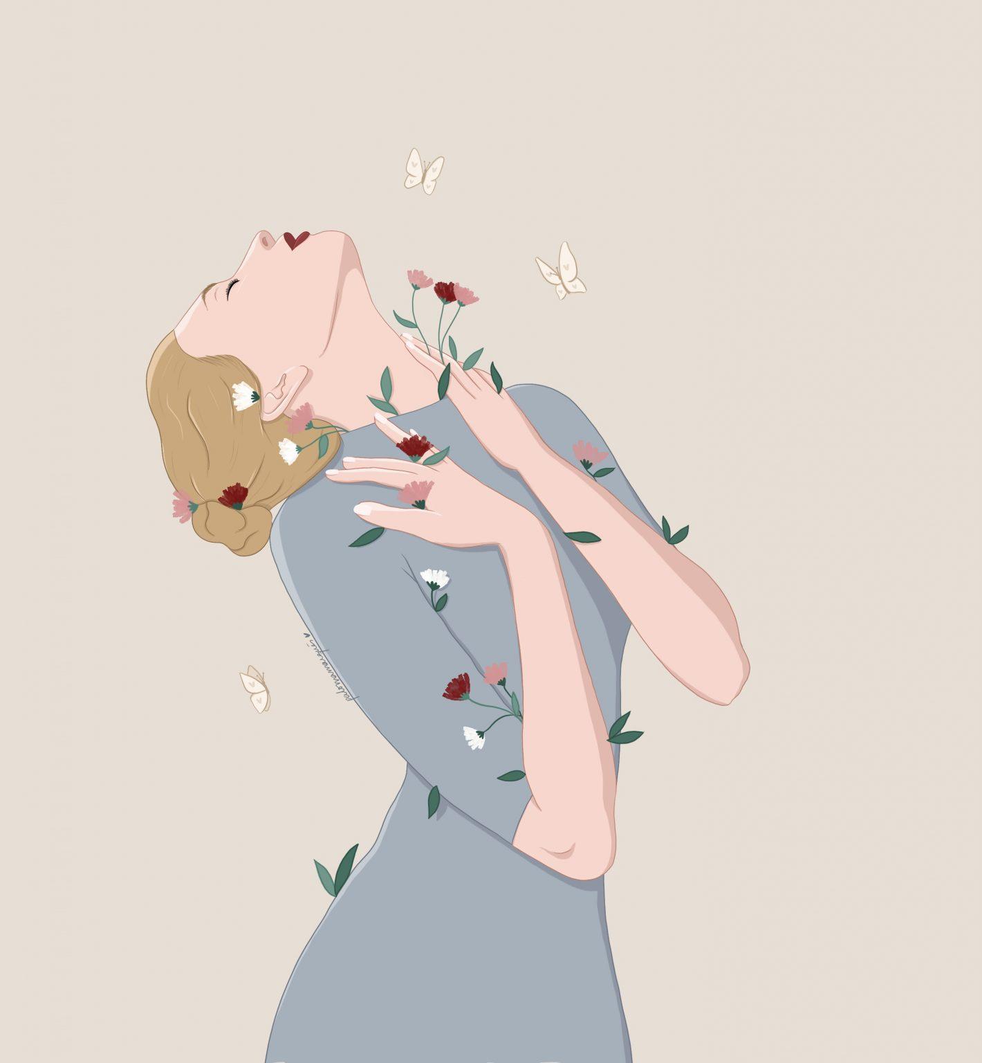 ilustracion renacer paloma marques