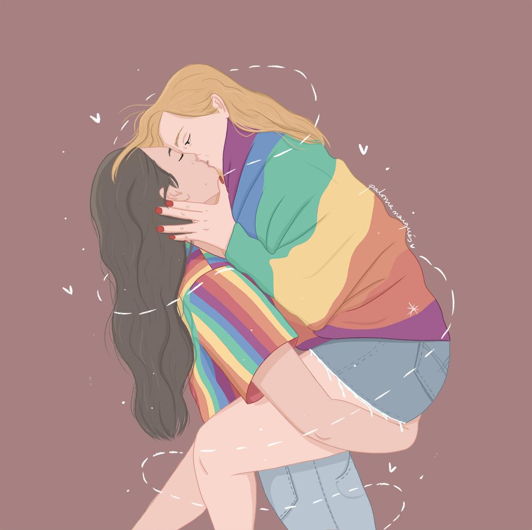 Ilustración Love is Love