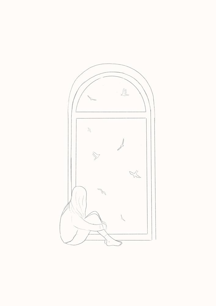 Boceto Ilustracion Portada